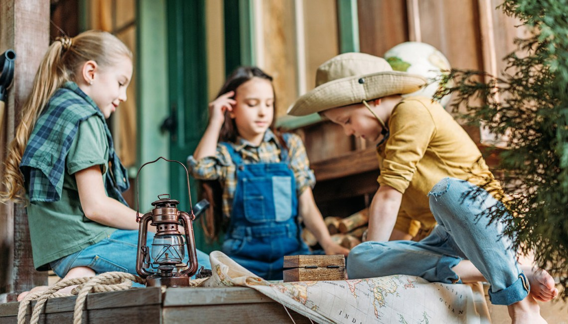 Case of Adventure - Country-Themed Kids Activity Books