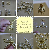 Come fare gli angioletti di perline * DIY beads angels