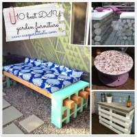 10 migliori idee di arredo giardino fai da te * 10 best DIY garden furniture ideas