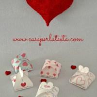 Scatolina per San Valentino stampabile * Printable Valentine's day box