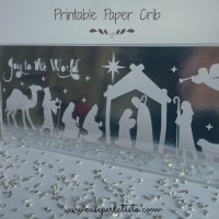 Presepe in carta da stampare * Printable Paper Nativity