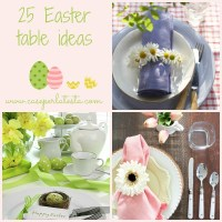 25 idee Idee per la tavola di Pasqua * 25 Easter table ideas