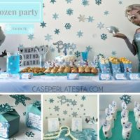 Party a tema Frozen fai da te