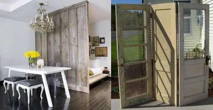 Separatoare ingenioase pentru camera si locuinta