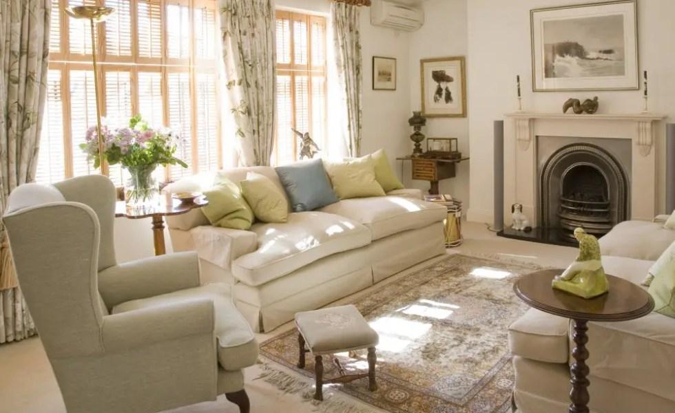Amenajari de casa in stil englezesc riguros