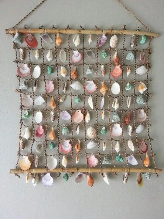 Decoratiuni pentru casa cu scoici si melci