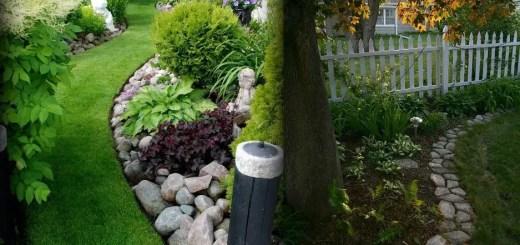 Idei pentru delimitarea spatiului in gradina de acasa