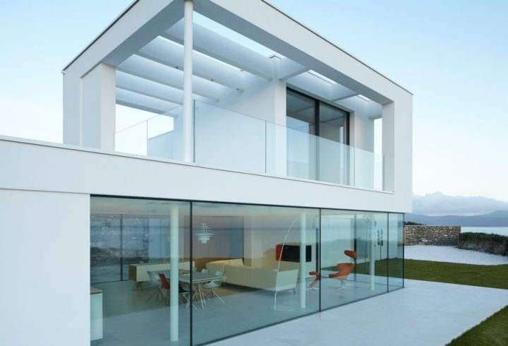 Cea mai frumoasa casa din Tara Galilor este moderna