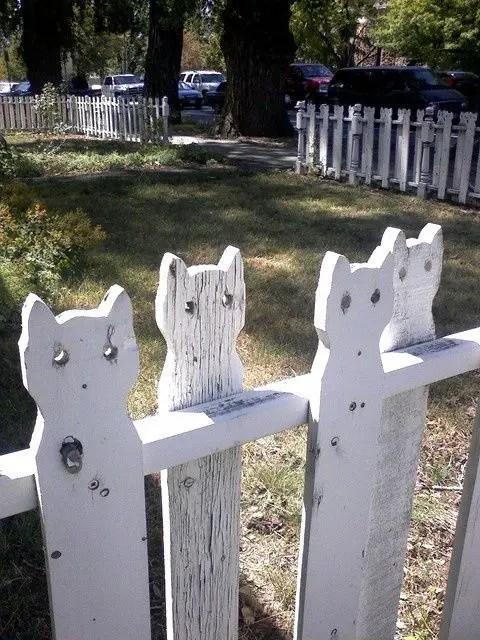 Gardul de gradina facut cu mana ta