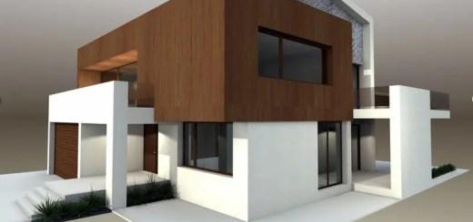 Proiecte de case moderne la oras