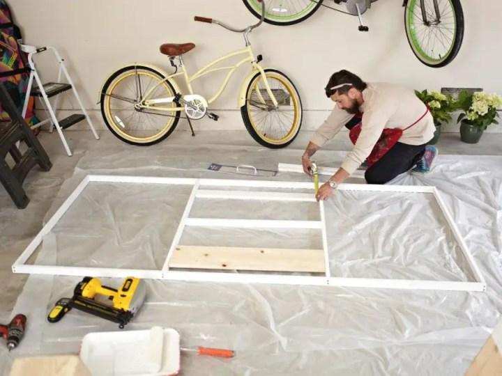 Construirea unei usi glisante building a sliding door 3