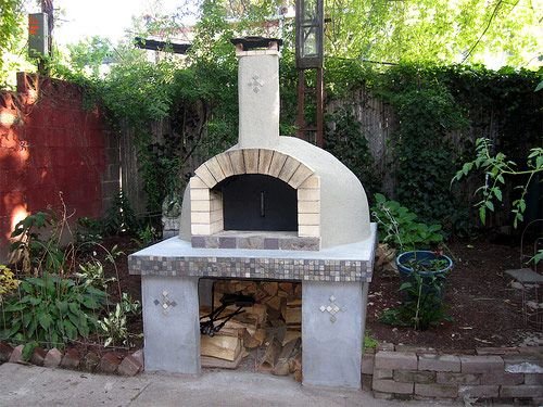 constructia unui gratar de gradina How to build an outdoor brick oven 6