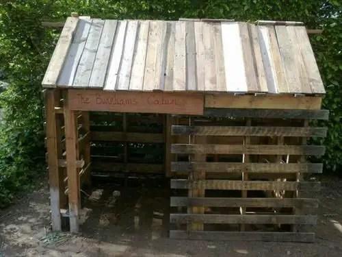 construirea unei custi de caine how to build a dog house with pallets