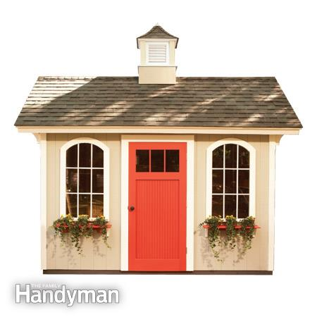 construirea unei magazii din lemn building a garden shed 5