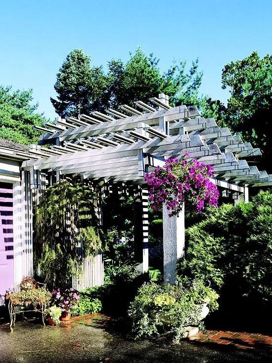 Cum construiesti o pergola in continuarea casei pe terasa
