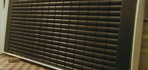 Panou solar din doze de aluminiu facut acasa