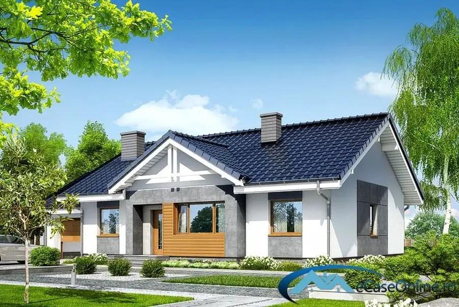 Proiecte de case mici fara etaj optiunea ideala for Case cu terase