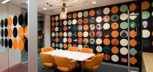 Amenajarea unui birou in stil modern acasa