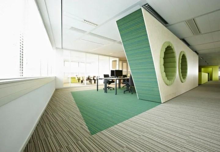 Amenajarea unui birou in stil modern Modern office interior design ideas 9