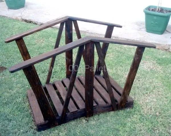 Cum construiesti un pod de gradina How to build a garden bridge with an arch 12