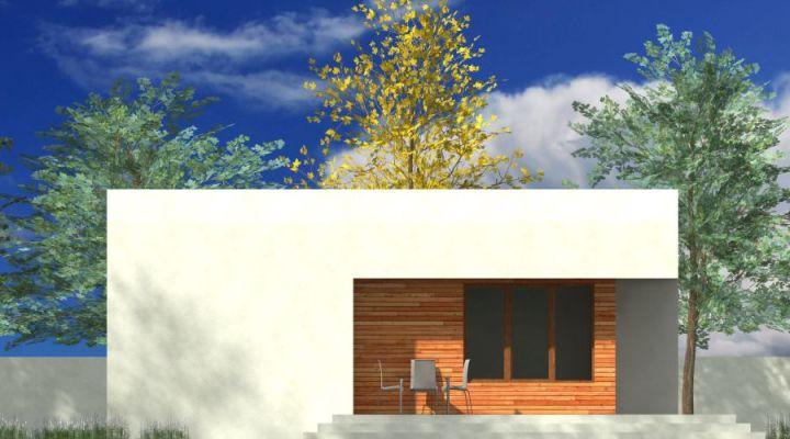 cele mai frumoase case fara etaj Single story modern house plans 5