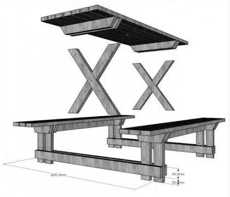 Mobilier din paleti pentru gradina de acasa