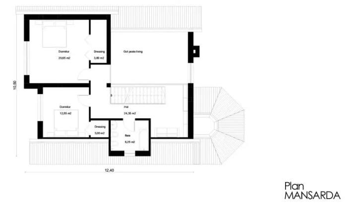 proiecte de case cu demisol Semi basement house plans 13