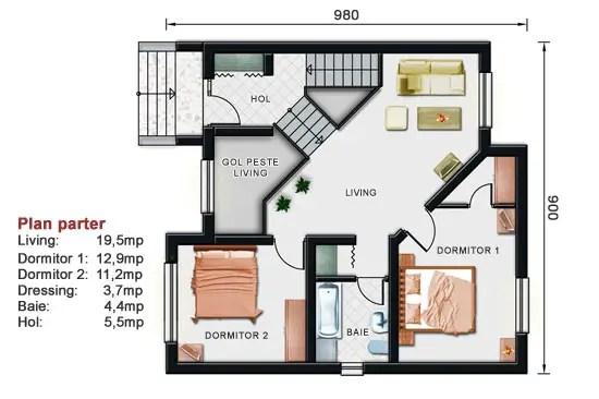 Proiecte de case cu demisol atragatoare