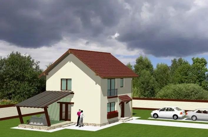 proiecte de case cu terase acoperite spatiu pentru familie