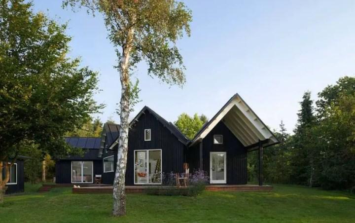 Proiecte de case in stil danez moderne