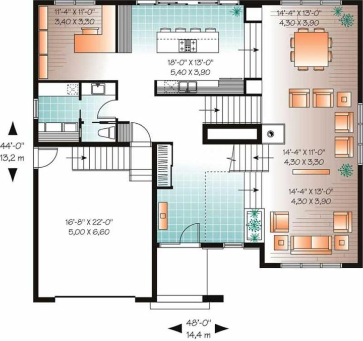 case cu terase din sticla house plans with glass terrace 13