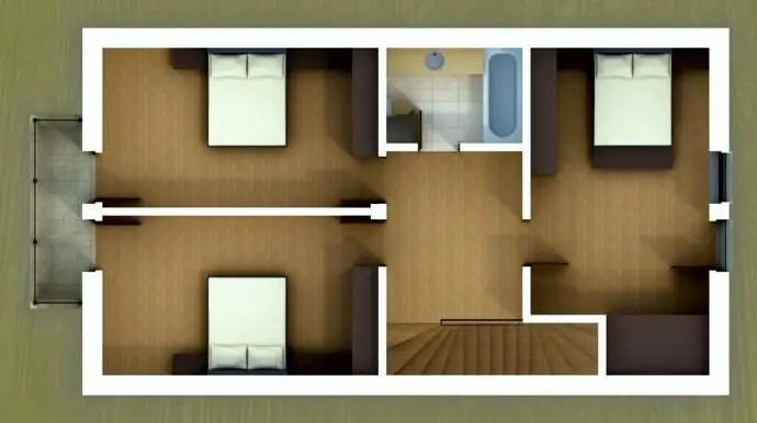 case frumoase cu mansarda beautiful attic house projects 4