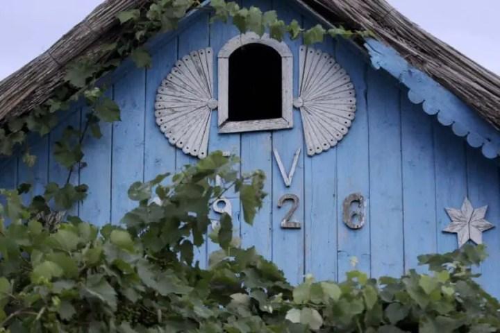 Case traditionale din Delta Dunarii foarte frumoase