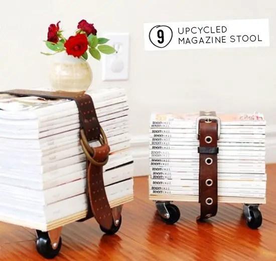 Ce puteti face din reviste vechi acasa