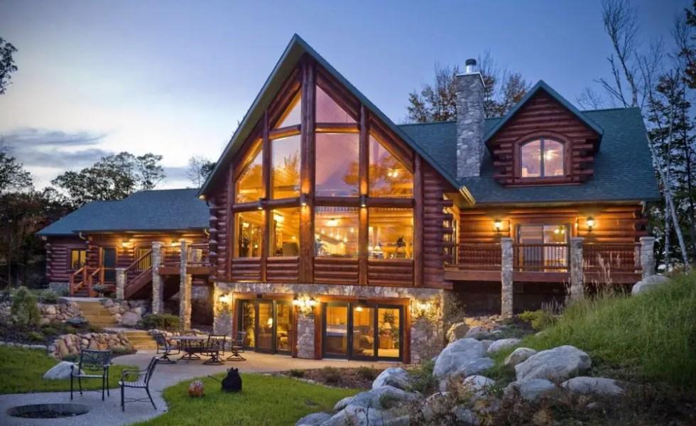 Cele mai frumoase case din lemn din lume