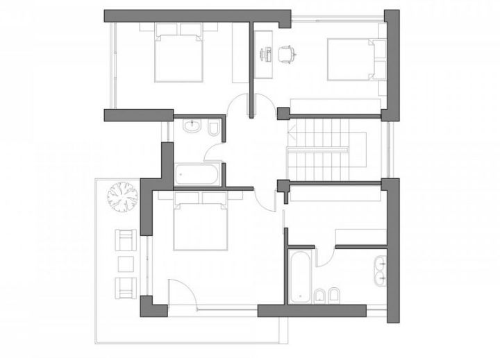 modele de case cu si fara etaj one and two story house plans 10