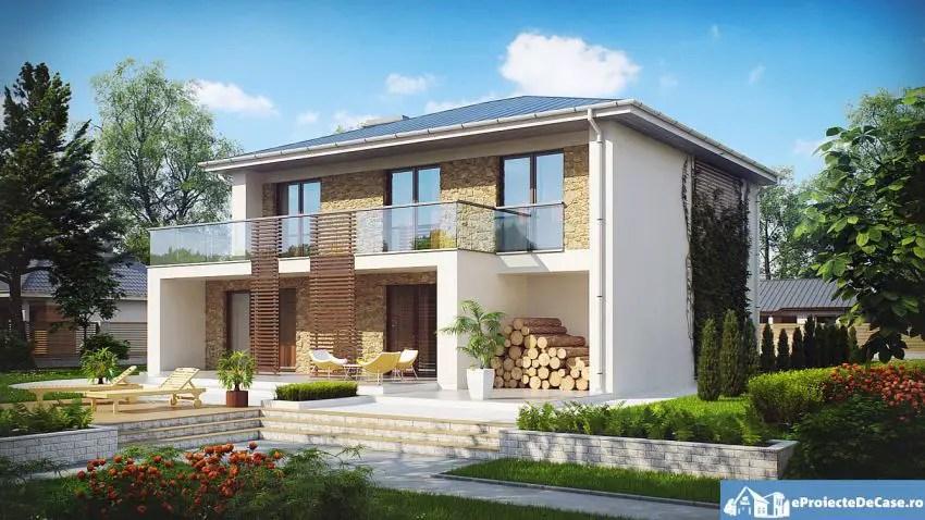 modele de case cu si fara etaj one and two story house plans 4