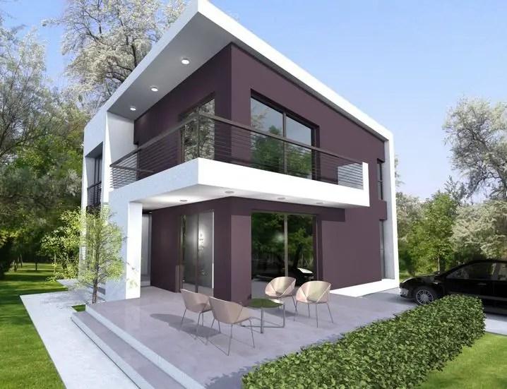 Modele de case cu si fara etaj inspiratie prin diversitate for Small 1 1 2 story house plans