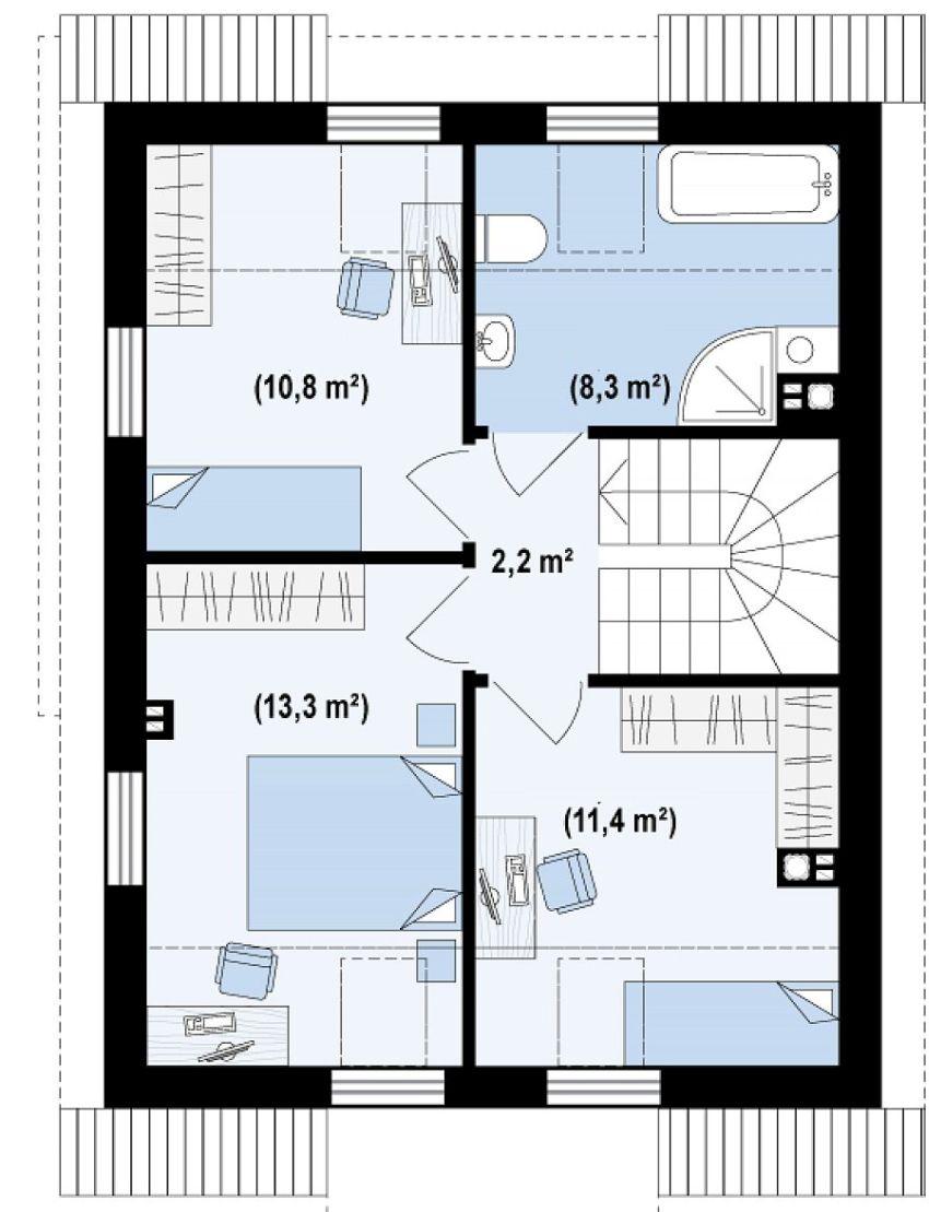 proiecte de case de 100 de metri patrati 1,000 square feet house plans 7