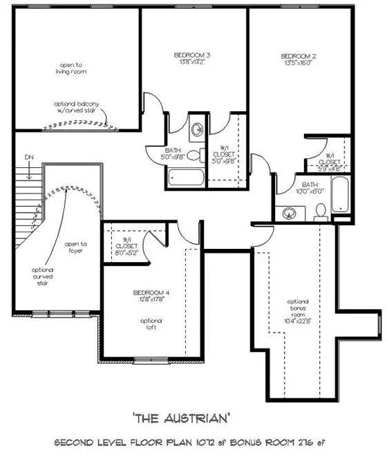 proiecte de case in stil austriac Austrian style house plans 6