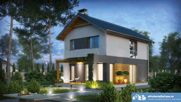proiecte de case moderne cu mansarda modern house designs with attic