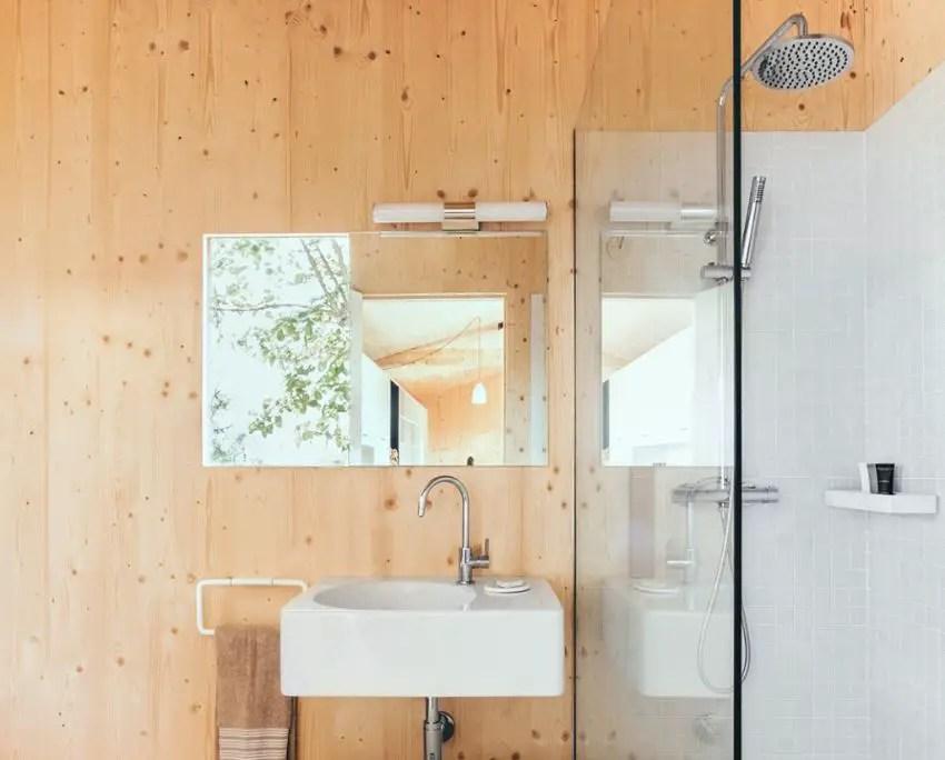cabana pasiva din spania The passive wood cabin in Spain 3