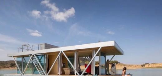 Casa plutitoare din Portugalia