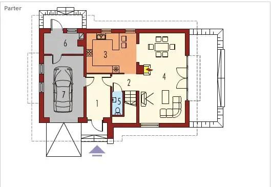 case cu lucarne Dormer window house plans 5