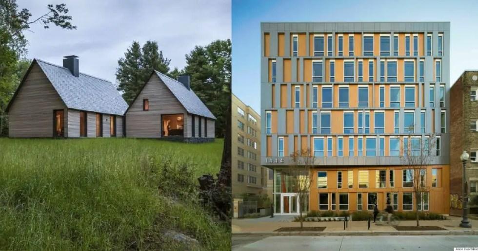 Cele mai moderne case din America din 2015