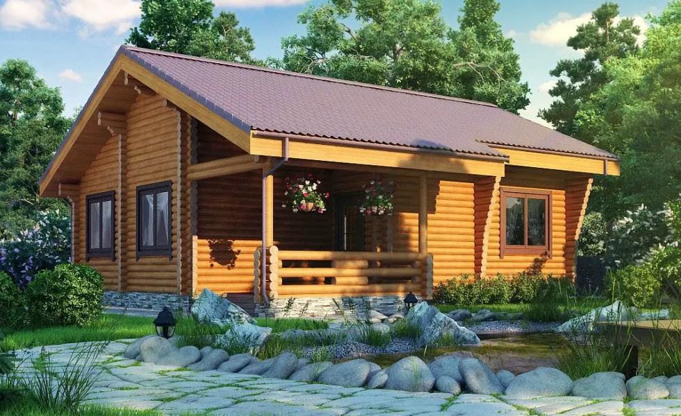 Constructia unei case din lemn pas cu pas si repede