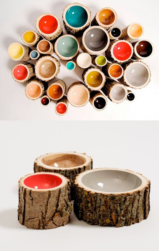 decoratiuni din buturugi Stump decorating ideas 3