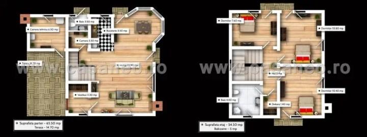 proiecte de case mici din osb Osb house building 12