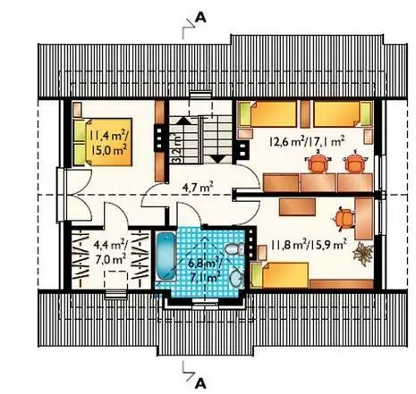 proiecte de case mici din osb Osb house building 3