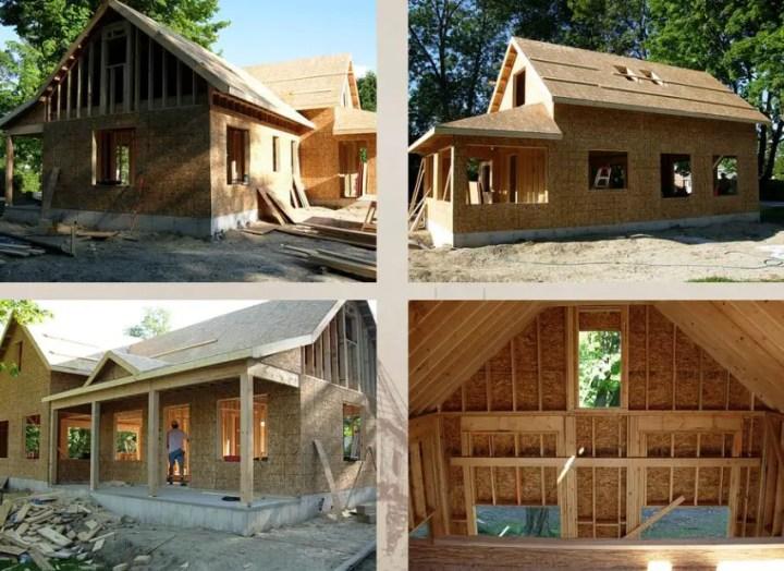 vreau sa construiesc o casa din lemn I want to build a wood house 4